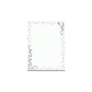 Letterhead - Party Elements - 8.5x11 - 100pk