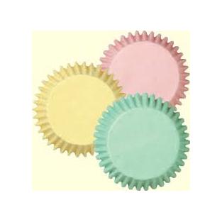 Baking Cups-Mini-Pastel - 100 ct