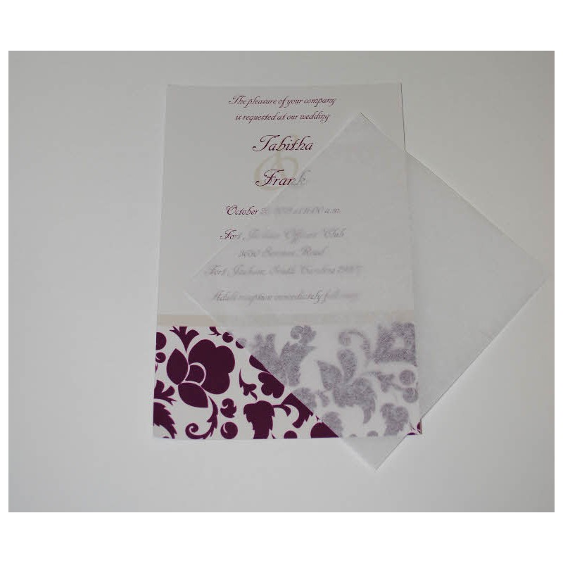 Tissue Inserts For Announcements 5x7 25 Pk 4 5x6
