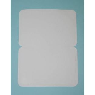 Nametag - Stick-on - White - 100ct
