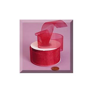 Ribbon - Sheer - 1.5nx25yd - Red
