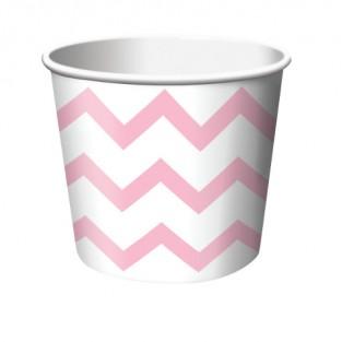 Treat Cup Chevron Classic Pink