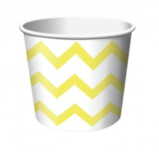 Treat Cup Chevron Yellow