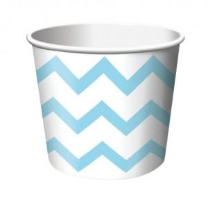 Treat Cup Chevron Pastel Blue