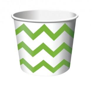 Treat Cup Chevron Fresh Lime