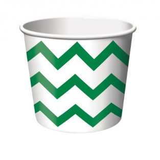 Treat Cup Chevron Green