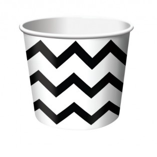 Treat Cup Chevron Black
