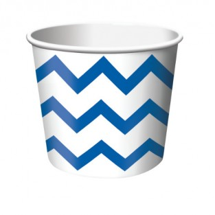 Treat Cup Chevron True Blue