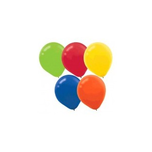 Balloon - Assorted - 15pk