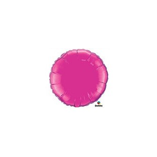 Balloon - Mylar - Magenta - 18 inch