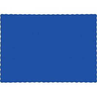 Placemat - Paper - Cobalt - 50 count