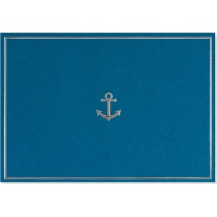 Note Card - Anchor - 14 count