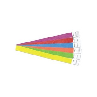 Wristband - Security - Tyvek - Yellow - 100pk