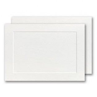 Park Avenue, 4 Bar, Panel Card, White