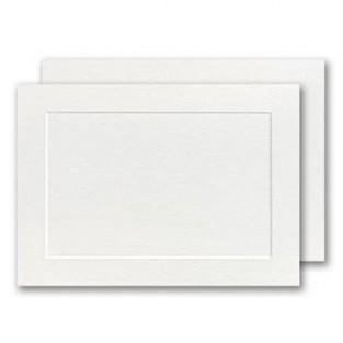 Park Avenue, 5.5 Bar, Panel Card, White
