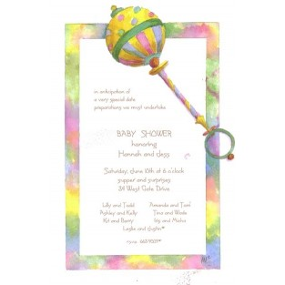 Invitation-Oddballs-Shake-20pk w/envelopes 5.75X8.75