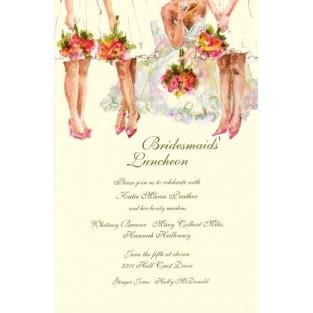 Invitation-Oddballs-All The Ladies-20pk w/envelopes 5.75X5.75