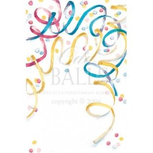 Invitation-Oddballs-Confetti-20pk w/envelopes 5.75X8.75