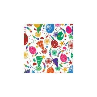 """Gift Wrap -BDAY Hat  – Jumbo-30"""" X 16'"""
