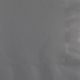 Napkin-Beverage-Glamour Gray-50ct