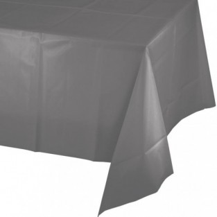 Tablecover-Plastic-Glamour Gray-54x108