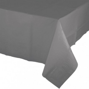 Tablecover-Paper-Glamour Gray-54x108