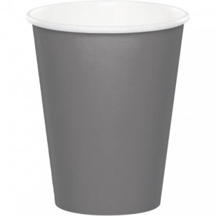 Cup-Glamour Gray-9oz-24 pack- paper