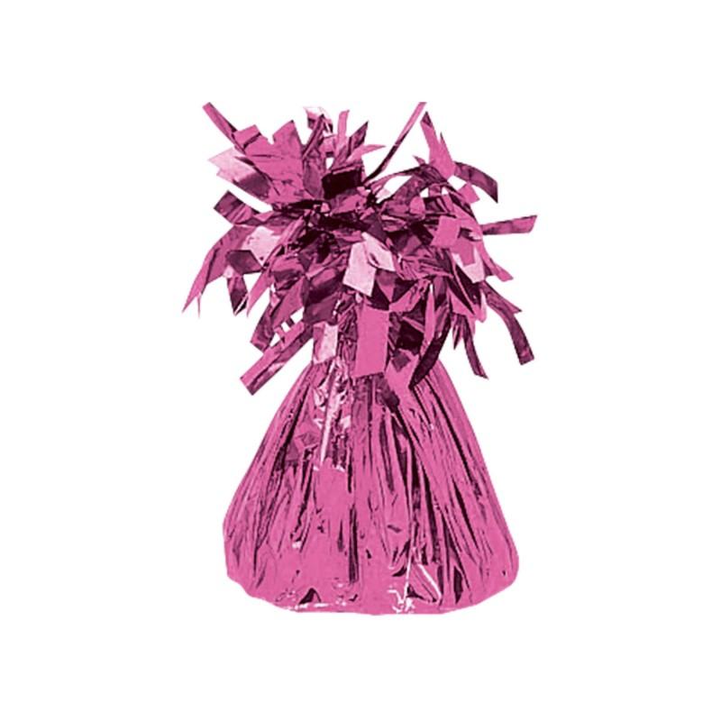 balloon weight bright pink