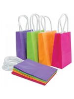 Colored, Printed Gift Bags